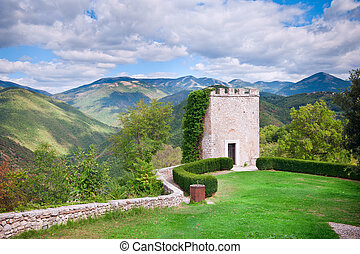 Labro Tower - Torrione. Latium - Labro Tower - Torrione. In...