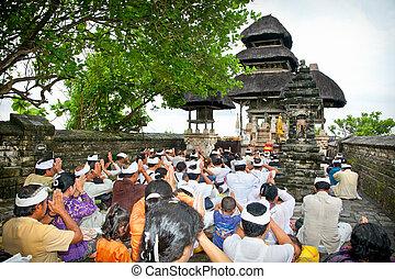 Pura, Luhur, Uluwatu, Bali, indonesia