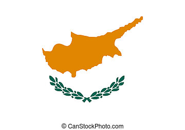 Flag of Cyprus. - National flag and ensign of Cyprus....