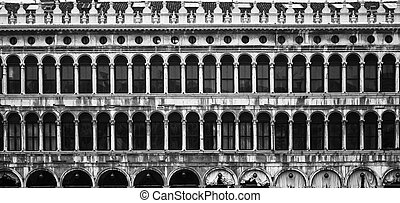 Piazza San Marco  - prospectus of the Piazza San Marco