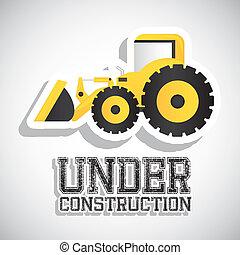 under construction - Illustration of under construction,...