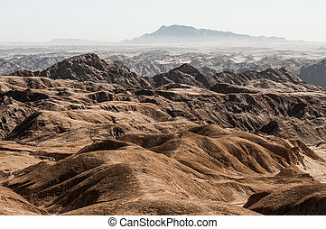 Swakop River Valley, Namibia - Moon Landscape in the Swakop...