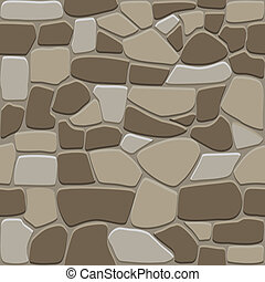 Seamless stone background - Seamless stone pattern for...