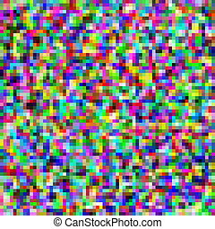 Colorful pixels mosaic abstract pattern background.