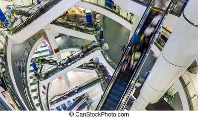 SHOPPING MALL TIME LAPSE - Shopping Mall Timelapse