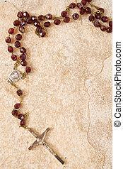 rosario, piedra, copia, espacio