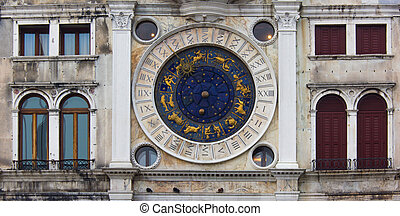 Venice, clock tower, particularly