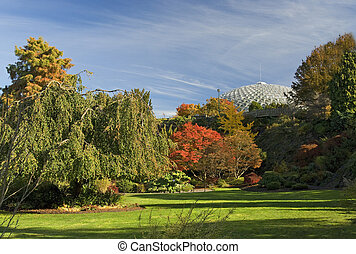 Vancouver - Queen Elizabeth Park in the fall