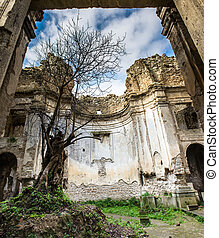 Ruins of Monterano - Ruins of the city of Monterano in Italy
