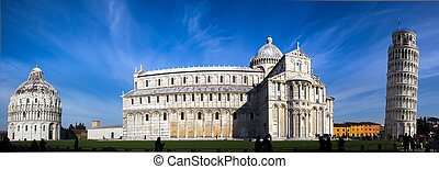 Pisa, place of miracles: the leaning tower and the cathedral...