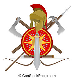 Weapon of the gladiator - Weapon and armor of the ancient...