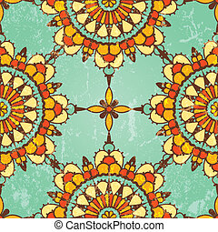 Ornamental seamless pattern. Vector abstract background. EPS...