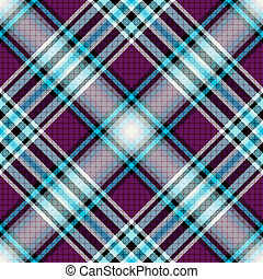 Repeating blue-violet pattern