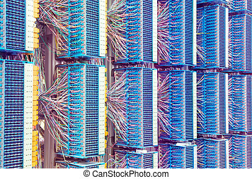 servers in a technology data center