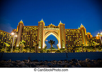 Atlantis, The Palm Hotel in Dubai, United Arab Emirates -...