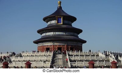 Temple of Heaven in BeijingChinas royal ancient architecture...
