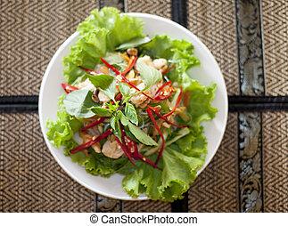 Khmer Food - Seafood  khmer food plate