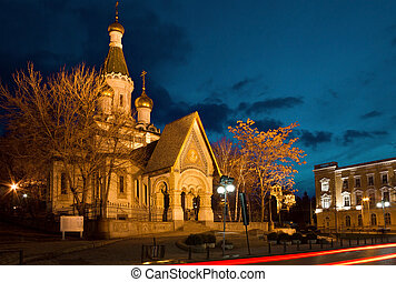 Russian Church of St Nicholas the Miracle Maker in Sofia -...
