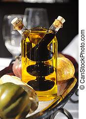 Oil and Vinegar - Oil and vinegar glass dispenser