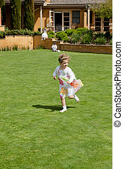Easter egg hunt - Egg hunt is a game during which decorated...