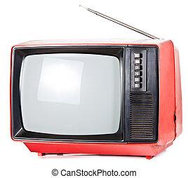 Vintage portable TV set