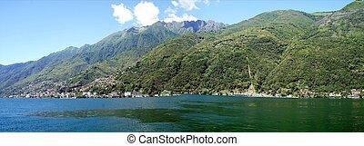 On the Lake Maggiore in Ticino