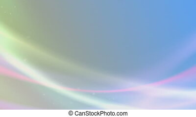 Abstract Whispy Background - A loopable, bright abstract...