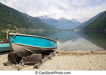 Lago di Poschiavo Switzerland
