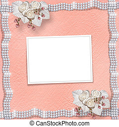 Card for anniversary or congratulation to St. Valentine's...
