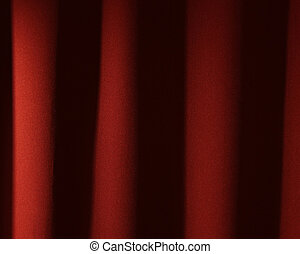 red theatre curtain - background image