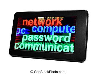 Network computer password
