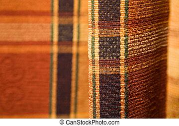 Tartan pattern fabric