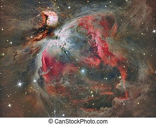 Orion Nebula - The Great Orion Nebula in real colors