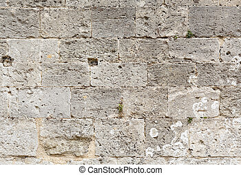 Stonework - Closeup of ancient masonry stonework ideal for a...