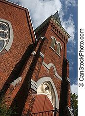 Church Spire - old church spire