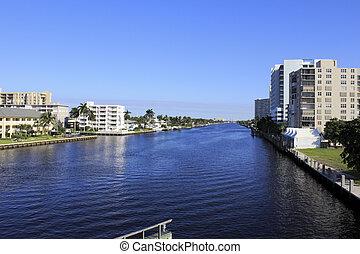 Intracoastal Waterway, Fort Lauderdale, Florida