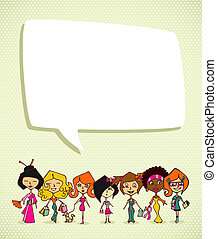 Diversity 8 march International Women Day - Different...