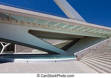 Bridge in Valencia , Spain