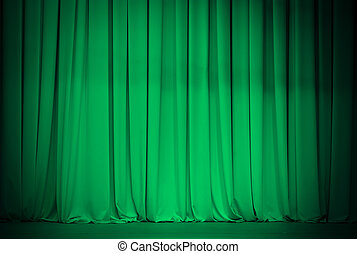 green theatre or emerald curtain
