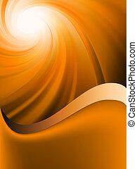 Abstract burst card Template EPS 8 vector file included