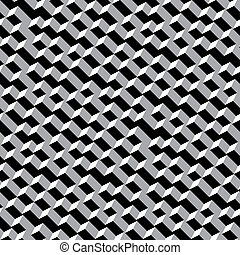 Vector seamless pattern - contrasty black and white texture...