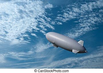 dirigible,