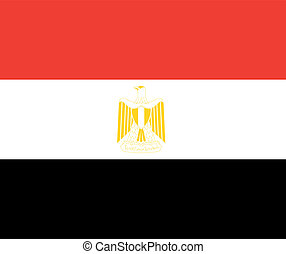 egypt flag - national flag of egypt country. world egypt...