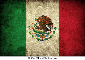 grudge Mexico flag - national flag of Mexico country. world...