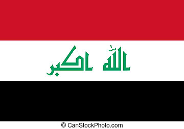 iraq flag - national flag of iraq country. world iraq...