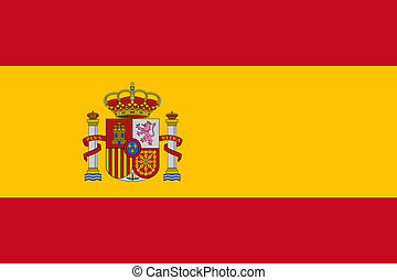 spain flag - national flag of spain country. world spain...