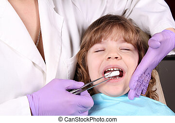 healthcare child patient at the dentist
