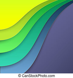 Colorful paper for background. Vector illustration, contains...