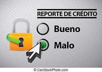 Credit Report selection in Spanish i