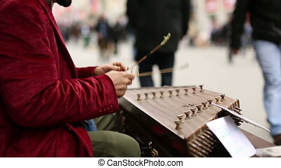 musician on the street